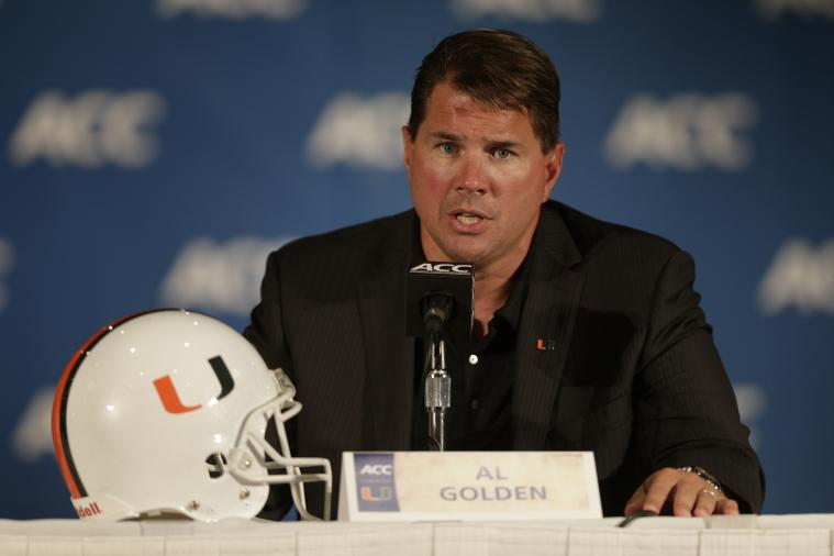 5 Issues We Would Love for Miami's Al Golden to Address at ACC Media Days