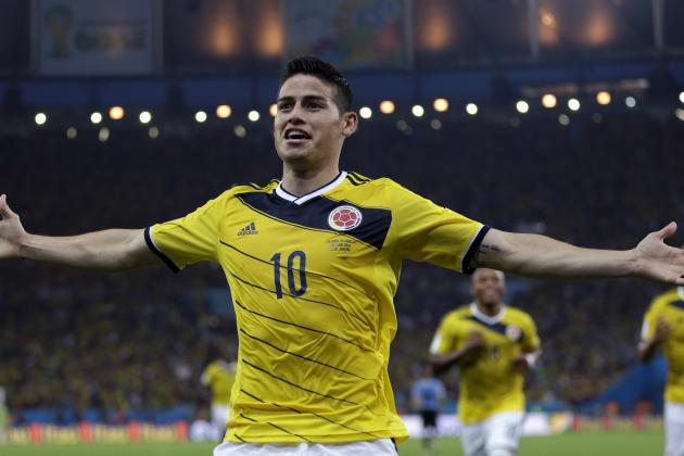 15 Best Goals of the 2014 FIFA World Cup