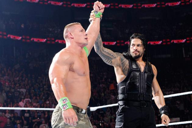 John Cena vs. Roman Reigns and Best Potential WWE Mega Feuds