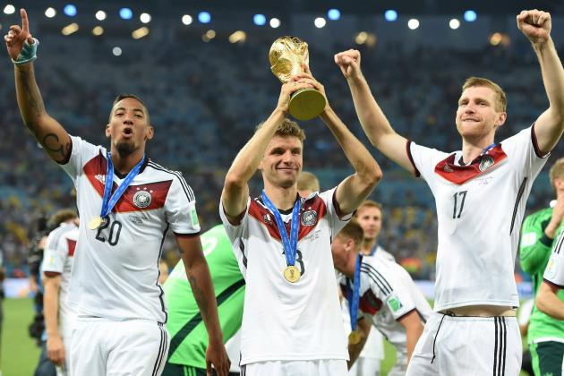 Ranking the Top Contenders for 2018 World Cup