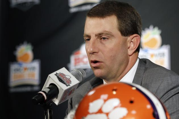 5 Issues We Would Love Clemson's Dabo Swinney to Address at ACC Media Days