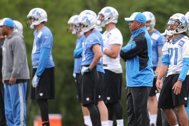 Projected Detroit Lions Final 53-Man Roster, Pre-Training Camp Edition