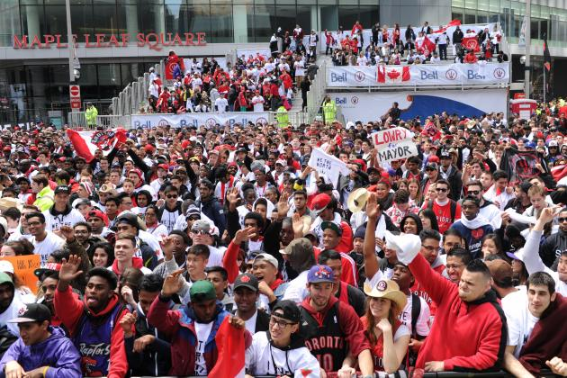 No. 20 Best City to Be a Sports Fan: Toronto