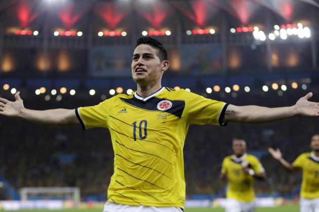 Power Ranking James Rodriguez and Past World Cup Golden Boot Winners