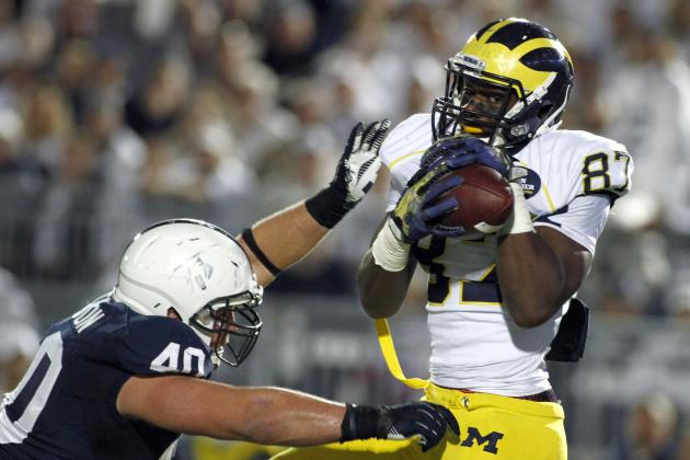 Michigan Football: Is Devin Funchess a Legitimate Biletnikoff Award Contender?