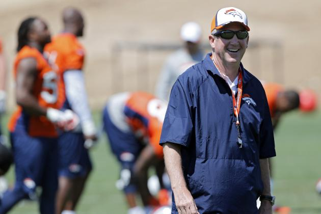 Projected Denver Broncos Final 53-Man Roster, Pre-Training Camp Edition