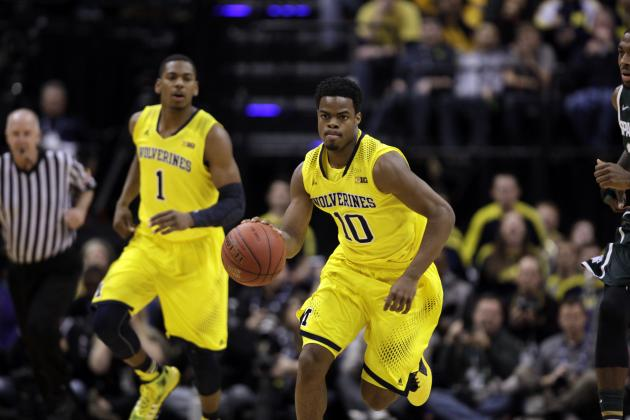 Michigan Basketball: Breaking Down Wolverines Guards for 2014-15 Season