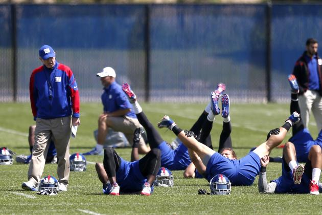 New York Giants Training Camp To-Do List