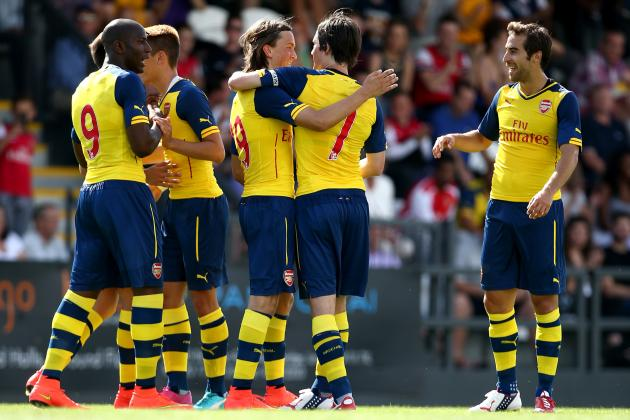 Arsenal vs. Boreham Wood: 6 Things We Learned