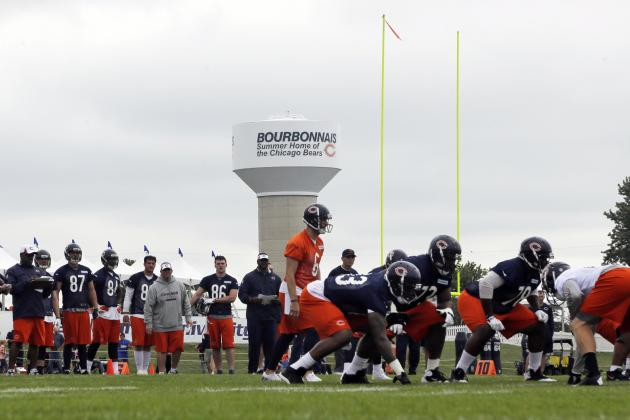 Chicago Bears Training Camp: 5 Early Storylines to Watch