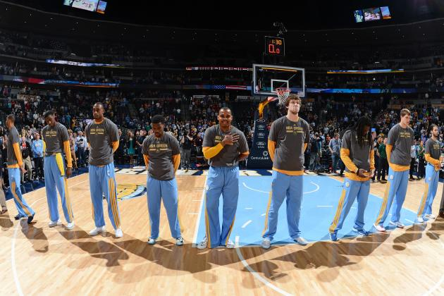 Early Predictions for Denver Nuggets' Starting Lineup Next Season