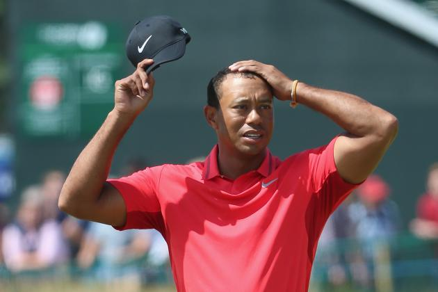 Tiger Woods at British Open 2014: Final Grades at Royal Liverpool