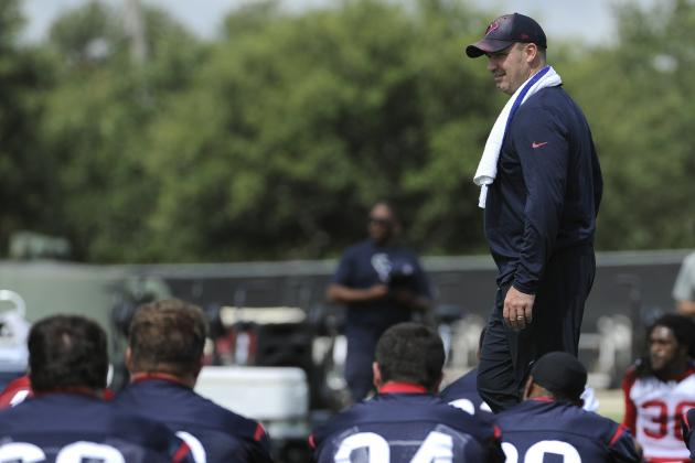 Top 5 Reasons to Be Optimistic About the 2014 Houston Texans