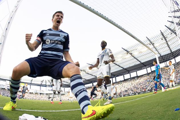 Winners and Losers from MLS Week 19: Everyone at Sporting KC, Borchers and More