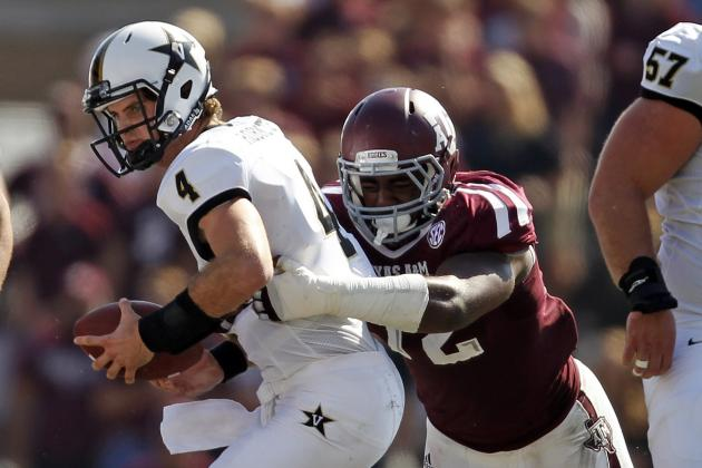 Texas A&M Football: Predicting the Depth Chart Heading into Fall Camp