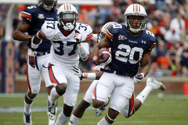 Auburn Football: Previewing 5 Biggest Position Battles Heading into Fall Camp