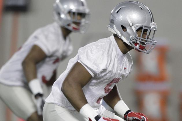 Ohio State Football: 5 Biggest Position Battles Heading into Fall Camp