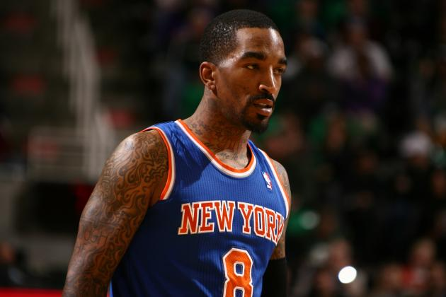 5 Potential Trade Packages and Landing Spots for Knicks Guard J.R. Smith