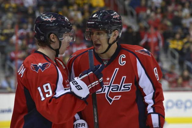 Power Ranking Washington Capitals' Top 6 Forwards for 2014-15 Season