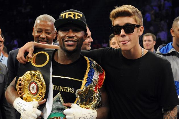 Celebrities Celebrating Wins with Athletes