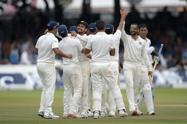 England vs. India: Player Ratings for MS Dhoni's XI After 2nd Test