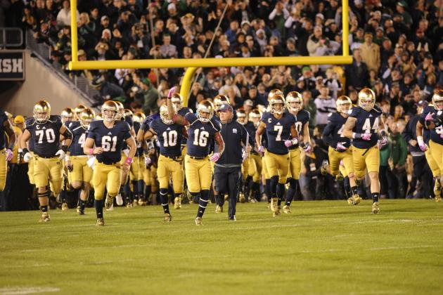 Notre Dame Football: Predicting the Depth Chart Heading into Fall Camp