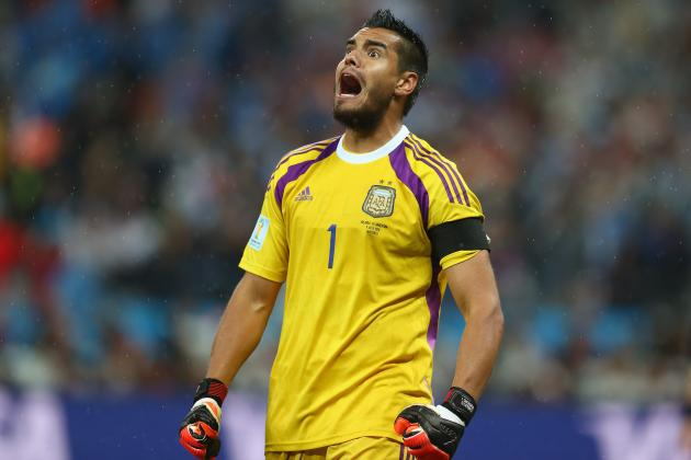 5 Teams Who Should Be Looking to Sign World Cup Star Sergio Romero