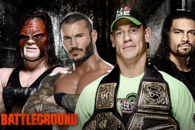 WWE Battleground 2014: Most Memorable Moments from PPV Event
