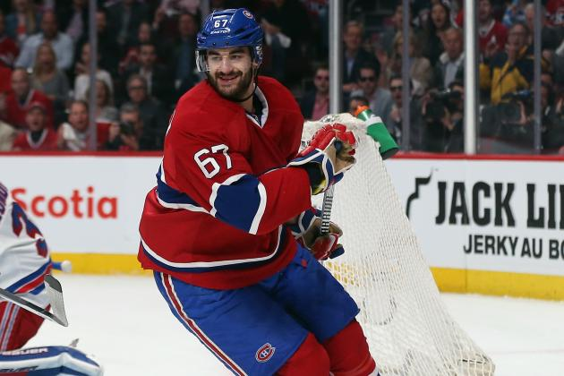 Power Ranking Montreal Canadiens' Top 6 Forwards for 2014-15 Season