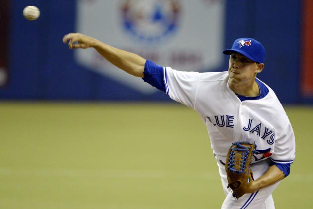 Stock Up, Stock Down for Toronto Blue Jays' Top 10 Prospects for Week 16