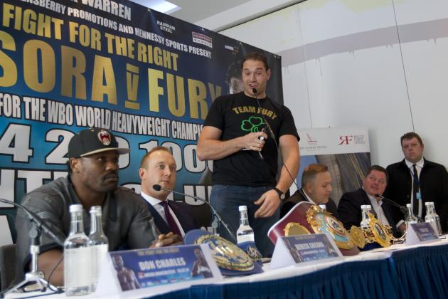 Ranking the Best Opponents for Tyson Fury After Dereck Chisora's Injury