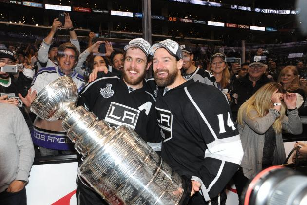 Power Ranking Los Angeles Kings' Top 6 Forwards for 2014-15 Season