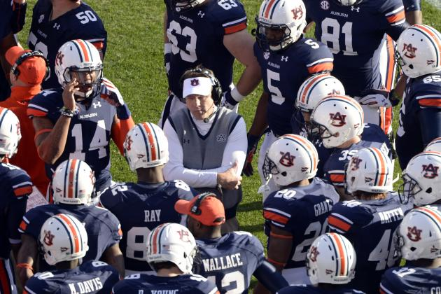 Auburn Football: Predicting the Depth Chart Heading into Fall Camp