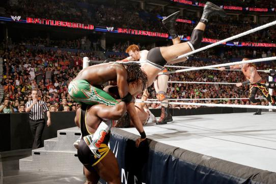 WWE Battleground 2014: Craziest Spots from Latest PPV Event