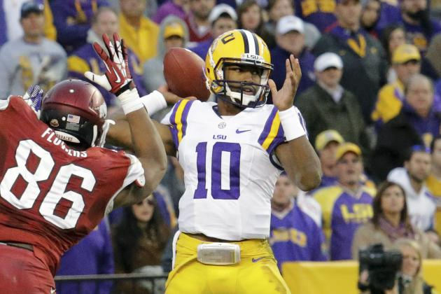 LSU Football: Predicting the Depth Chart Heading into Fall Camp