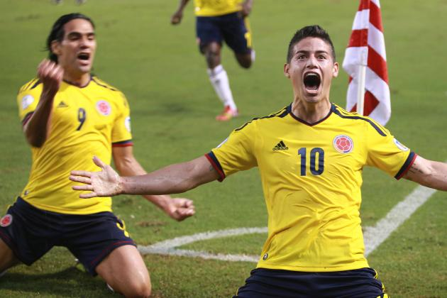 Where Does James Rodriguez Rank in the Top 25 Colombian Players of All Time?