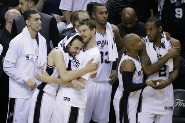 Report Card Grades for San Antonio Spurs' 2014 Offseason So Far