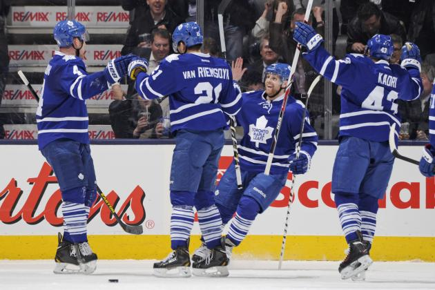 Power Ranking Toronto Maple Leafs' Top 6 Forwards for 2014-15 Season