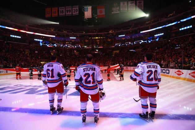 Power Ranking New York Rangers' Top 6 Forwards for 2014-15 Season