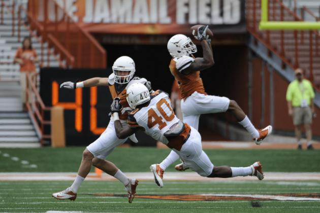 Texas Football: Previewing 4 Biggest Position Battles Heading into Fall Camp
