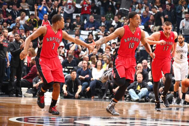 Early Predictions for Toronto Raptors' Starting Lineup Next Season