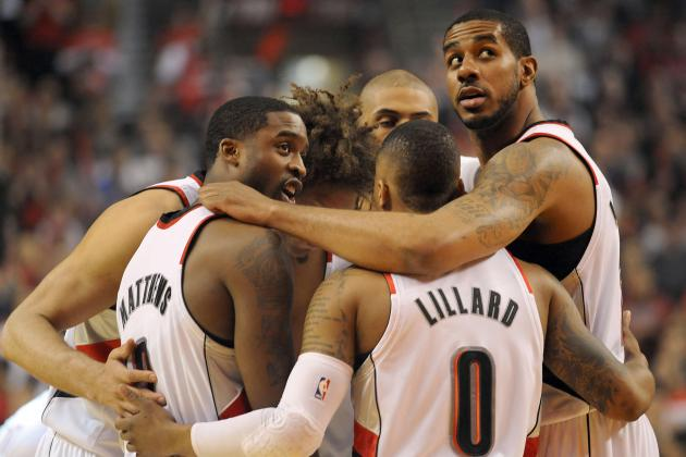 Early Predictions for Portland Trail Blazers' Starting Lineup Next Season