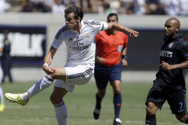 Gareth Bale's Screamer and the 10 Best Golazos from World Football This Weekend