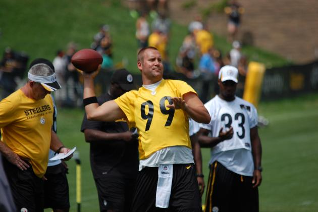Pittsburgh Steelers Training Camp: First Impressions from the Opening Practice