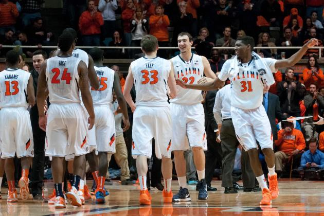 Illinois Basketball: Illini's Best Situational Lineups for 2014-15