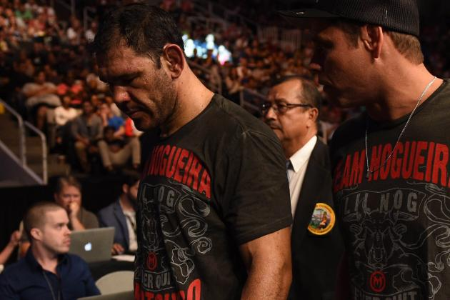 UFC: 10 Veterans Who Are Almost Done