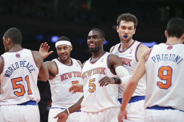 Predicting the NY Knicks' Opening Night Starting Lineup