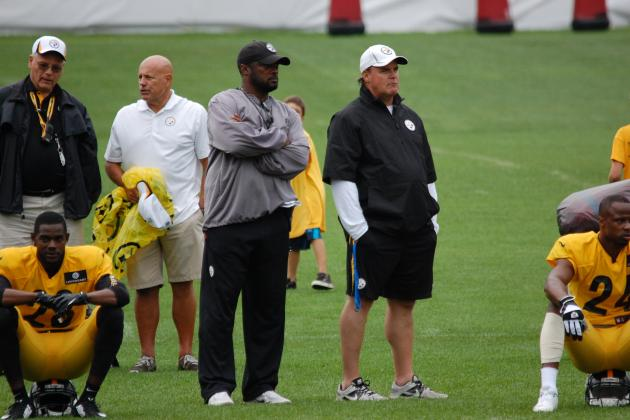 Pittsburgh Steelers Training Camp: Observations from Monday's Practice