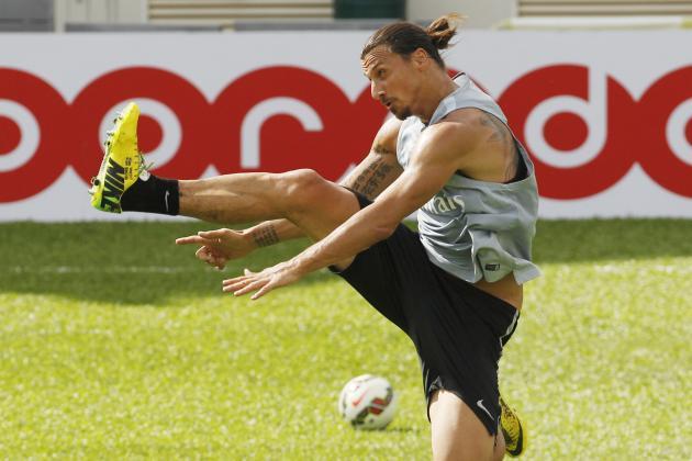 Zlatan Ibrahimovic and the 10 Best Training-Ground Goals