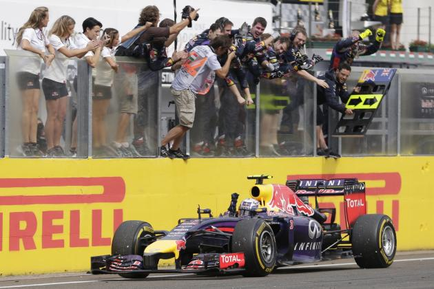 7 Key Moments That Won Daniel Ricciardo the 2014 Hungarian Grand Prix